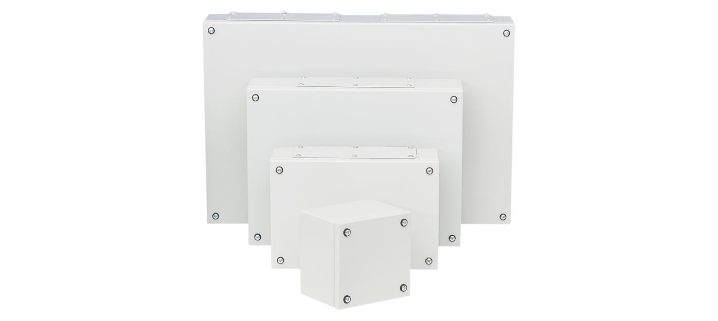 Série BKP - boîtes acier