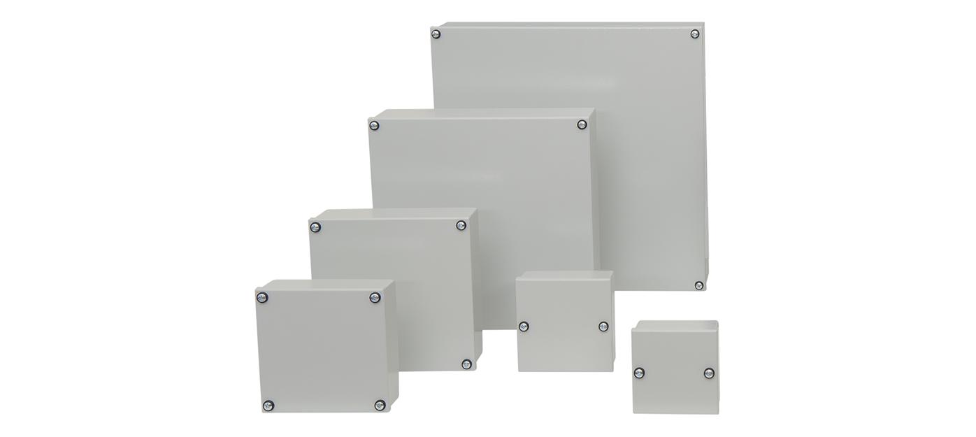 Série BK - boîtes acier
