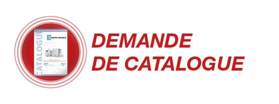 Demande de catalogue TEMPA FRANCE